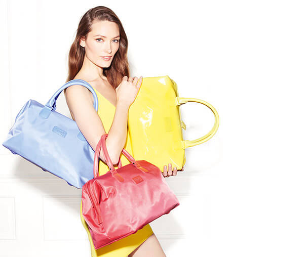 Barevné dámské kabelky Lipault