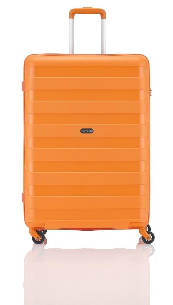 Travelite Cestovní kufr Nova 4w M Orange 74048-87 67 l