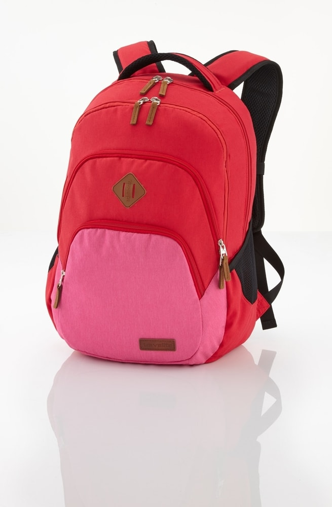 Travelite Batoh Neopak Backpack Red/pink 22 l