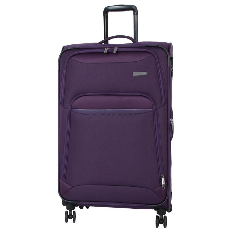 Travelite Cestovní kufr Kendo 4w L Purple 84/97 l