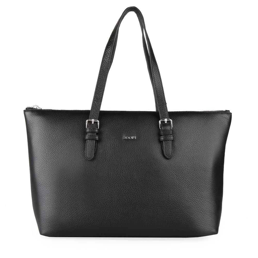 JOOP! Dámská kožená kabelka přes rameno Marla 4140004139 - černá