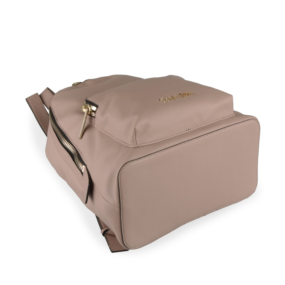 Calvin Klein Dámský batoh Drive K60K604462 - béžová