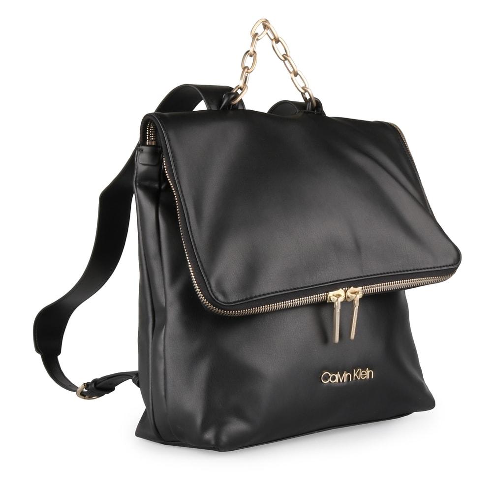 Calvin Klein Dámský batoh Fold K60K604444 - černá