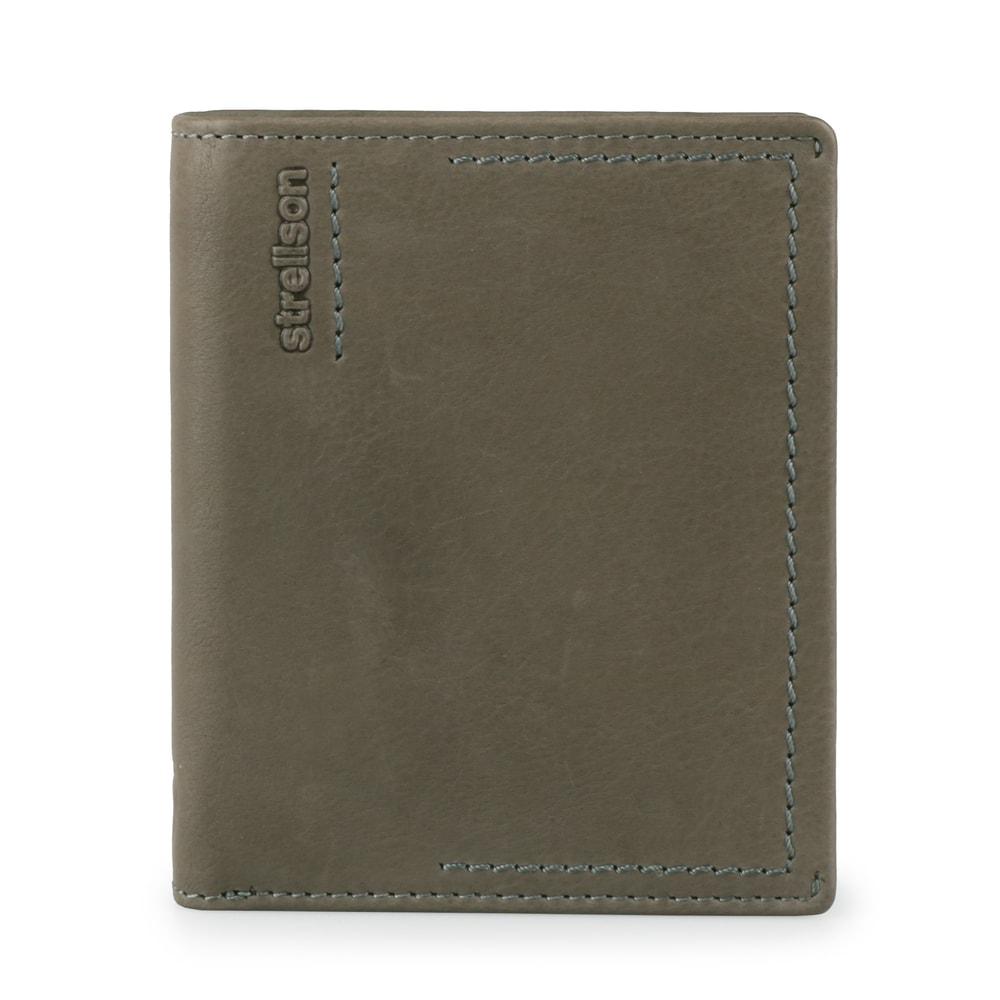 Strellson Pánská kožená peněženka Norton 4010002442 - šedá