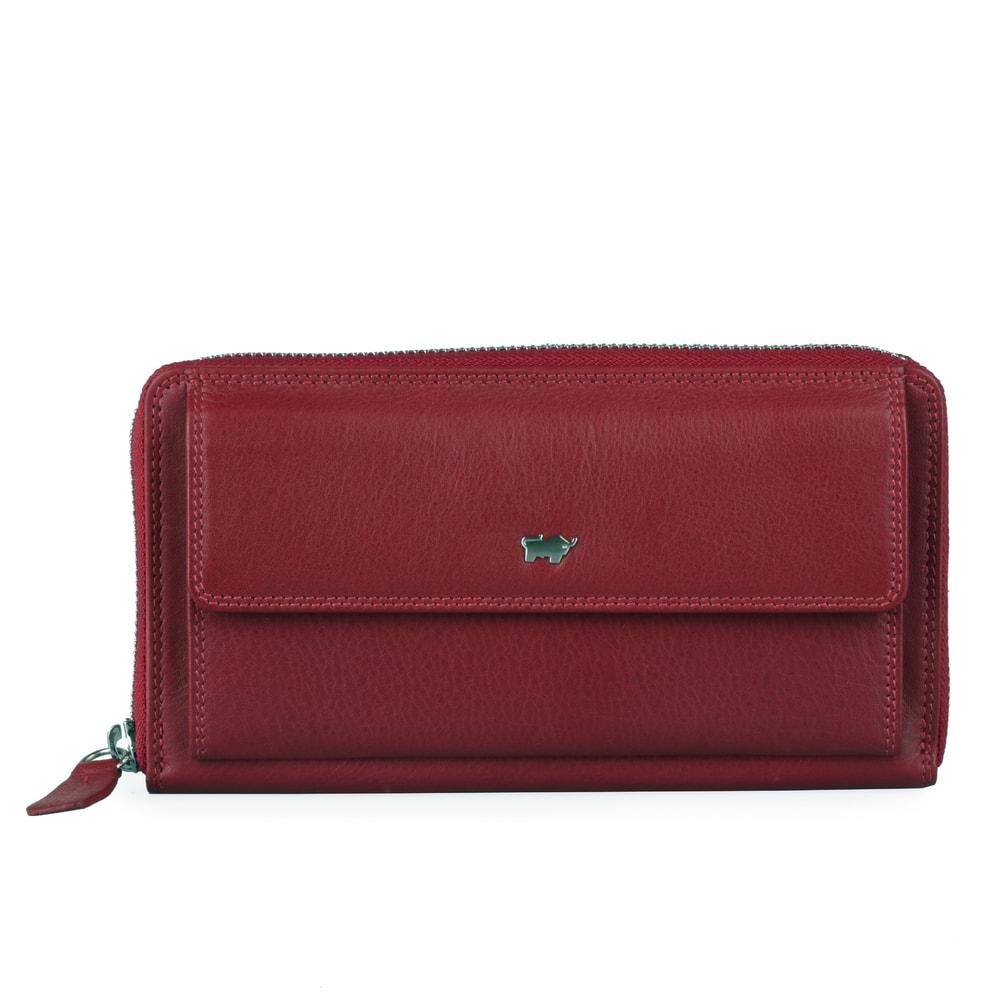 Braun Büffel Dámská kožená peněženka 90480-051 - červená
