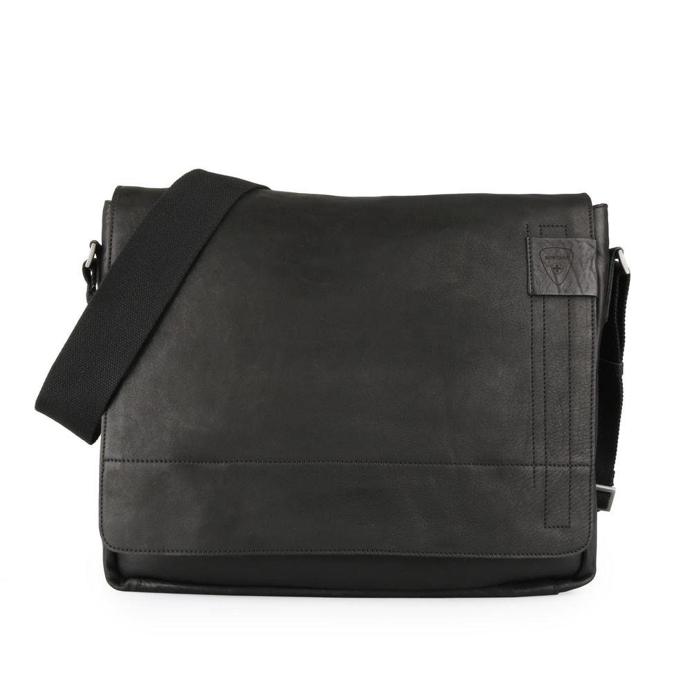 Strellson Pánská taška přes rameno Upminster 1924 - černá