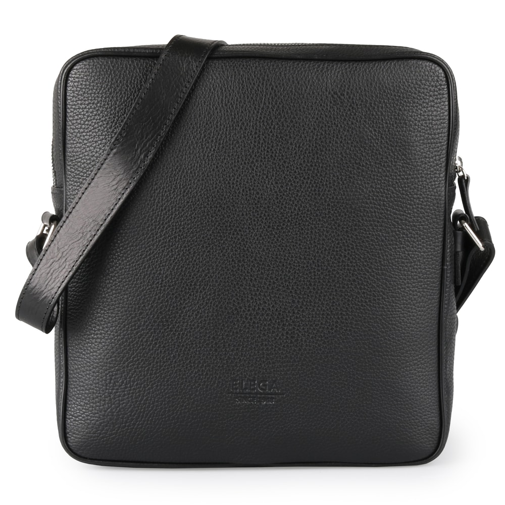 Elega Pánská kožená taška přes rameno Charles 69368 - černá 662735a698a