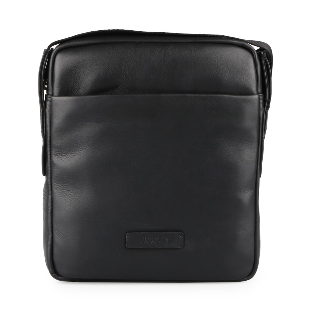 JOOP! Pánská kožená taška přes rameno Vetra Remus 4140004074 - černá