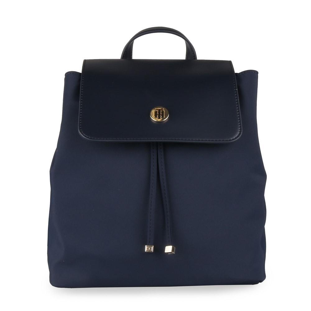 Tommy Hilfiger Dámský batoh Dressy Nylon AW0AW05668 - tmavě modrá
