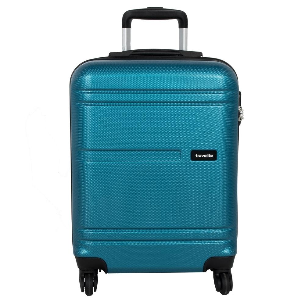 Travelite Kabinový cestovní kufr Yamba 4w S Petrol 38 l