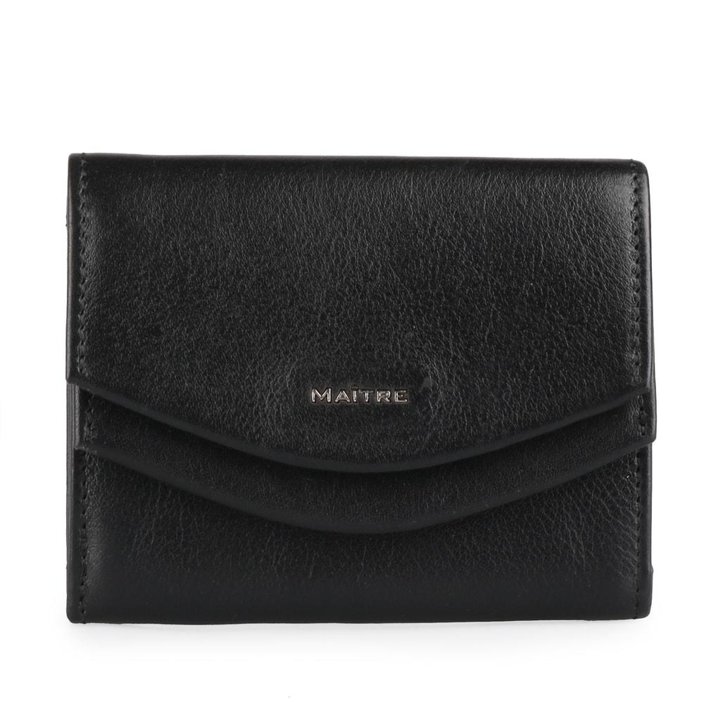 Maitre Dámská kožená peněženka Leisel Deda 4060001564 - černá