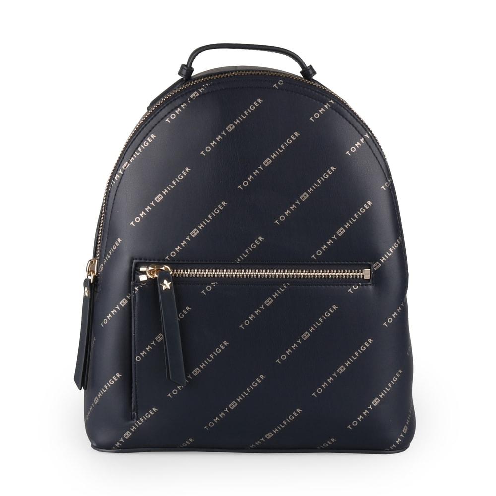 Tommy Hilfiger Dámský batoh Iconic Tommy AW0AW05670 - tmavě modrá