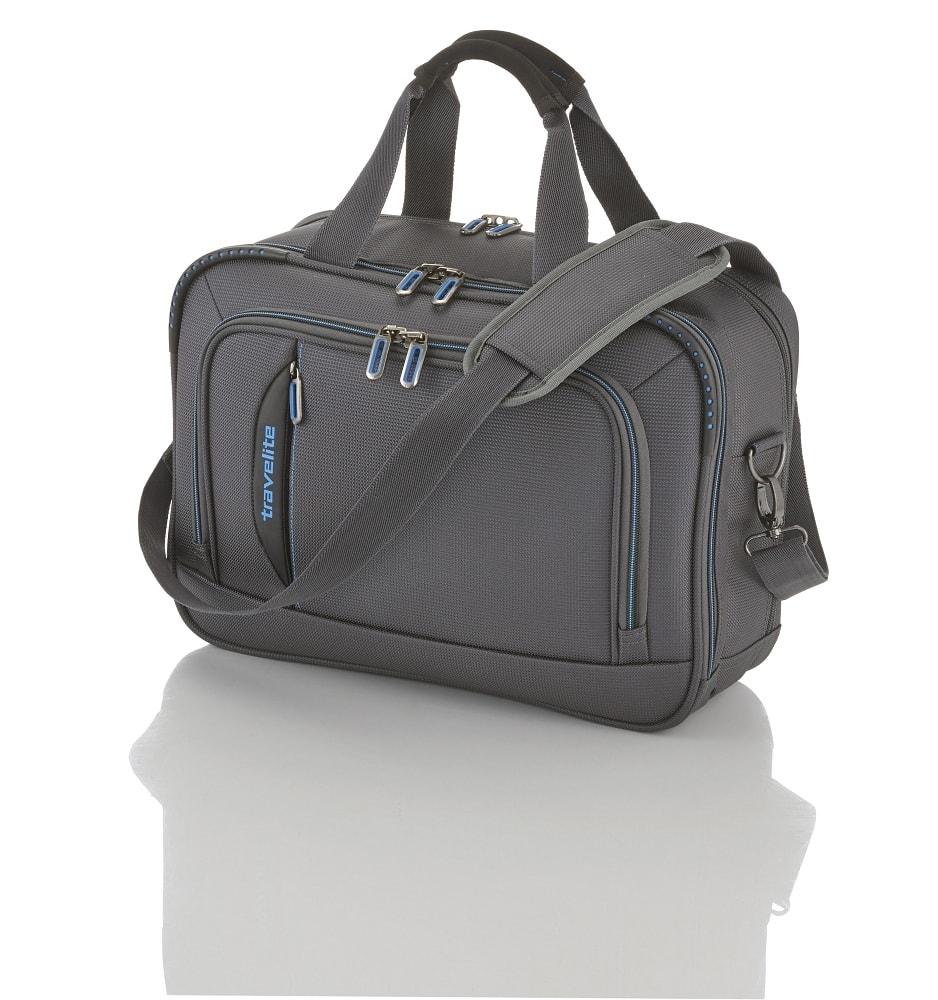 Travelite Palubní taška CrossLITE Board Bag Anthracite