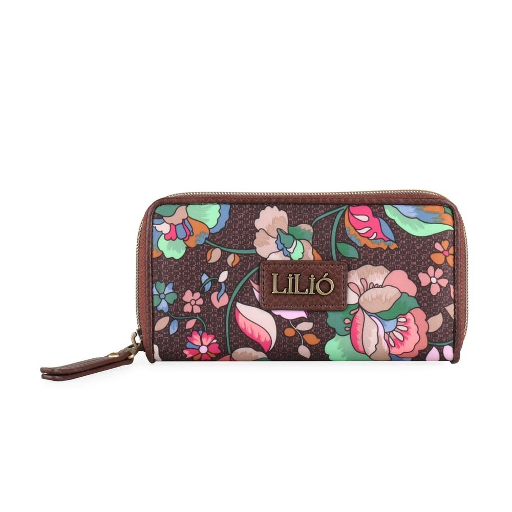 LiliÓ Dámská peněženka Biba LIL8534 - kaštanová