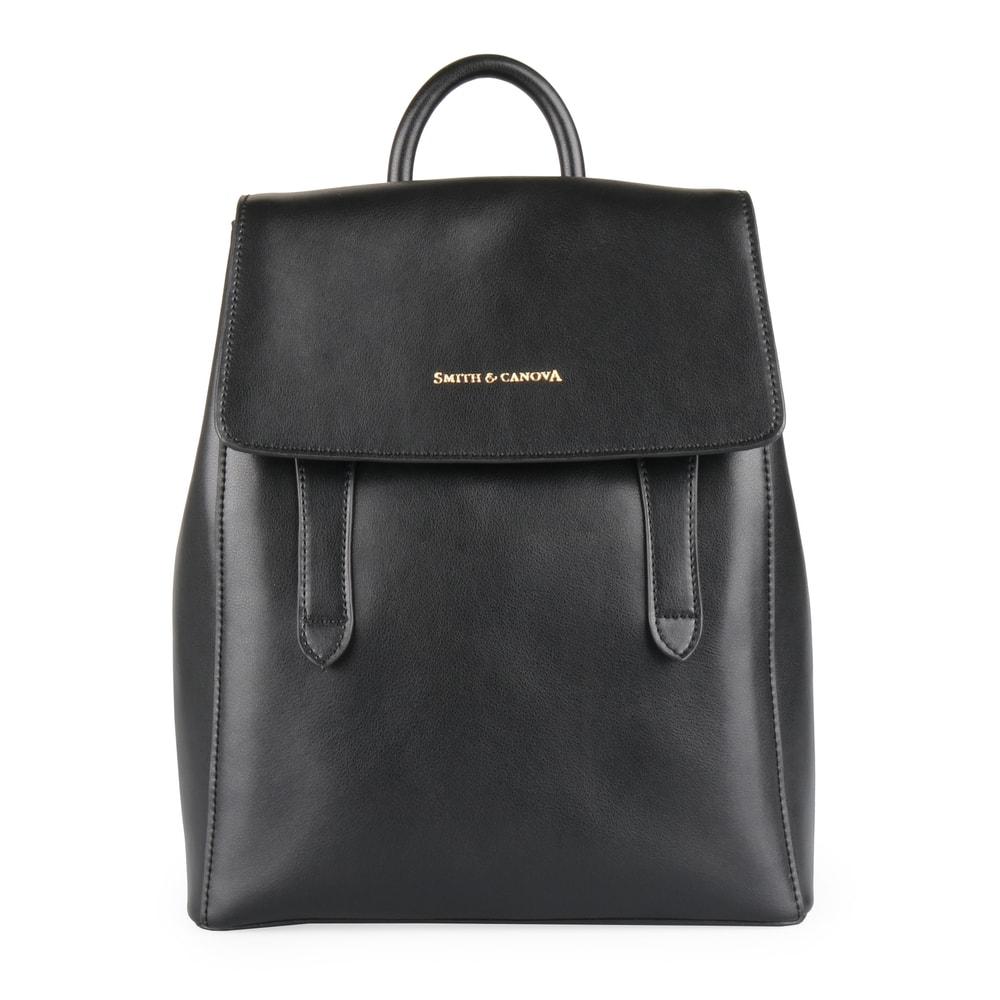 7f438ad1c2 Smith   Canova Dámský kožený batoh Cambridge 92907 - černá