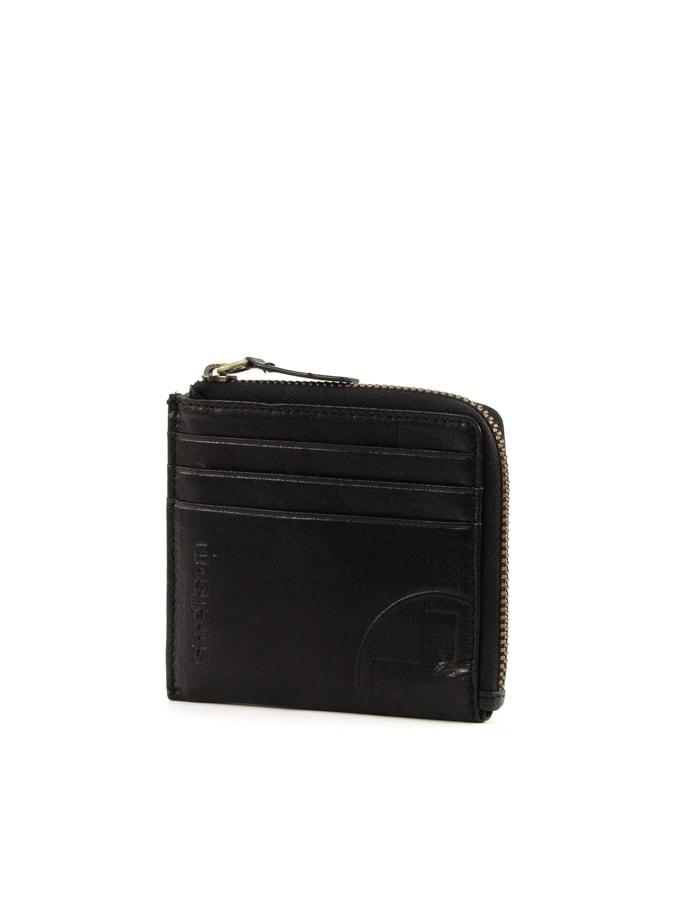 Strellson Kožená peněženka Strellson Edwyn H6 4010001474 - černá