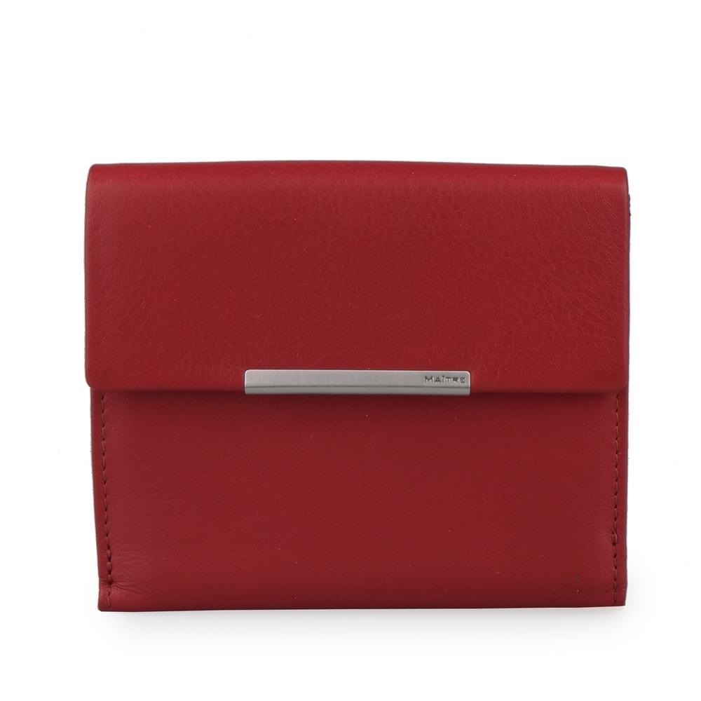 Maitre Dámská kožená peněženka Belg Dartrud 4060001416 - červená