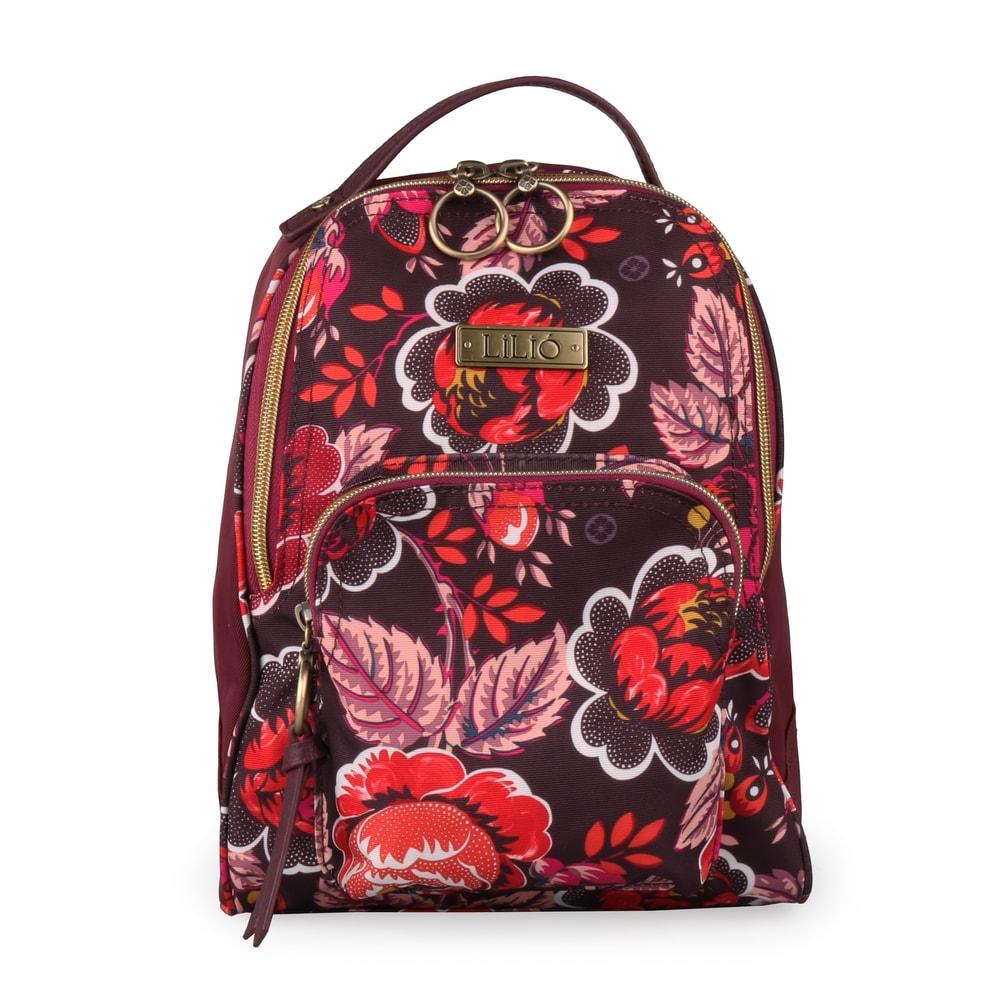 LiliÓ Malý dámský batoh Rosy LIL8502 - fialová