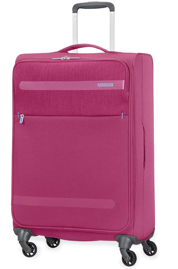 American Tourister Cestovní kufr Herolite Lifestyle Spinner 26G*105 68 l - růžová