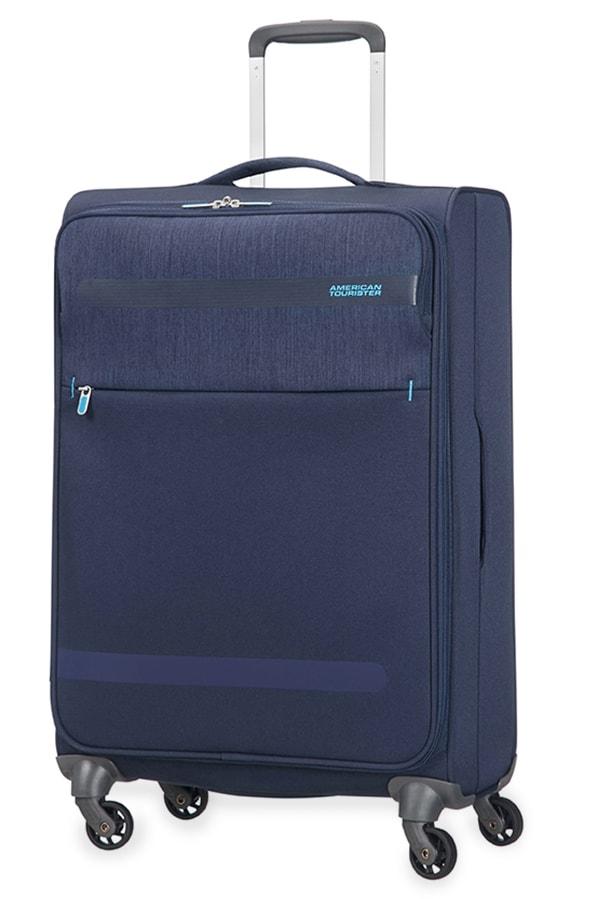 American Tourister Cestovní kufr Herolite Lifestyle Spinner 26G*105 68 l - tmavě modrá