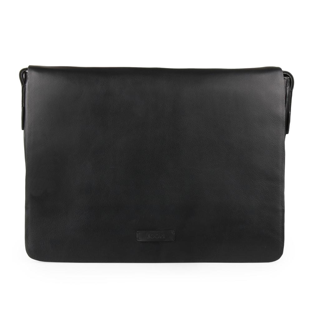 JOOP! Pánská kožená taška přes rameno Vetra Kimon 4140004071 - černá