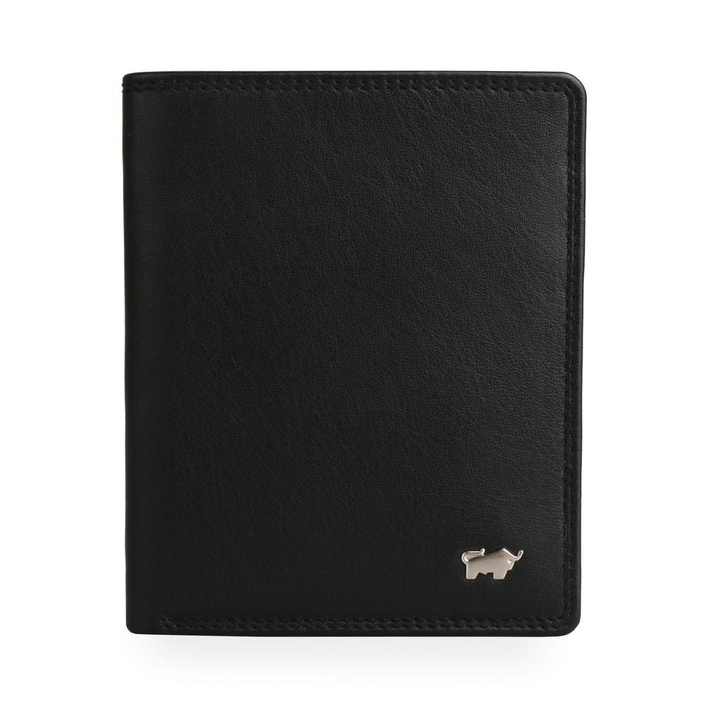 Braun Büffel Kožené pouzdro na doklady Golf 2.0 90448-051 - černá