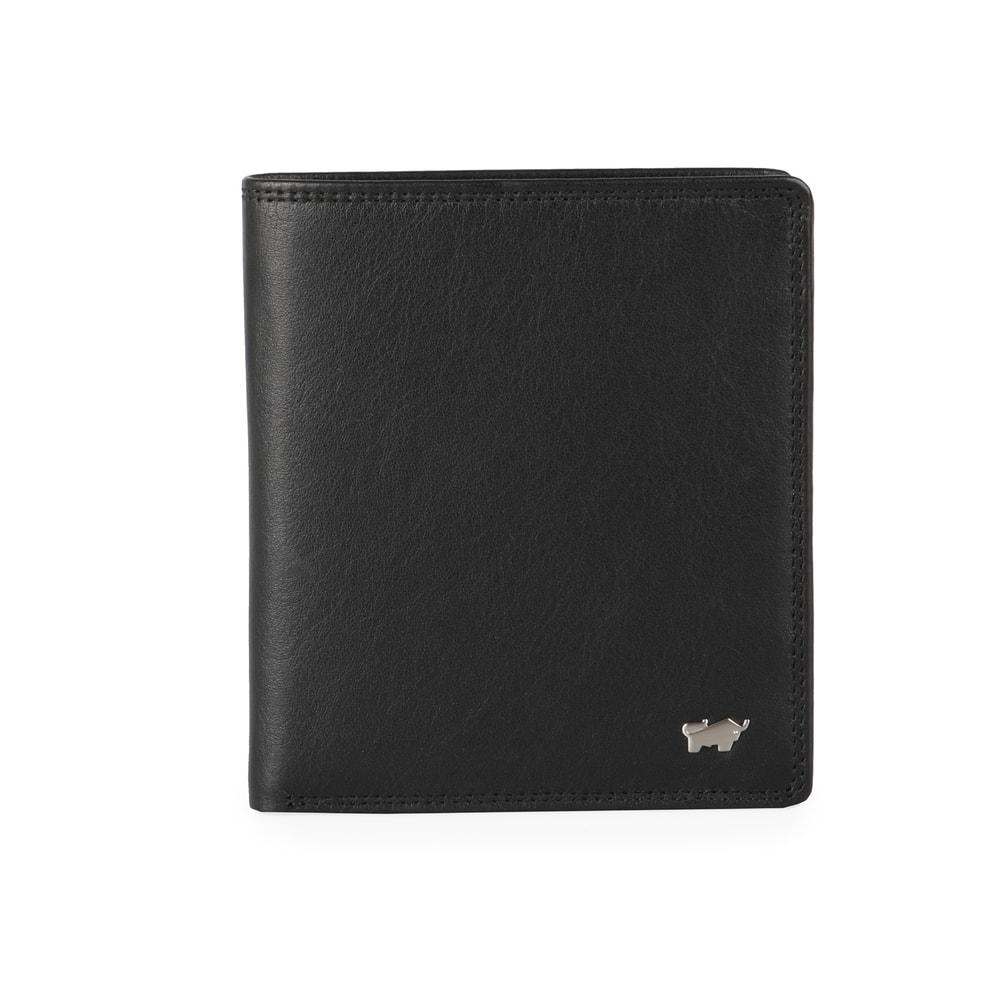 Braun Büffel Pánská kožená peněženka Golf 2.0 90441-051 - černá