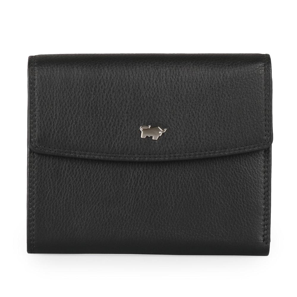 Braun Büffel Dámská kožená peněženka Golf 90444-051 - černá