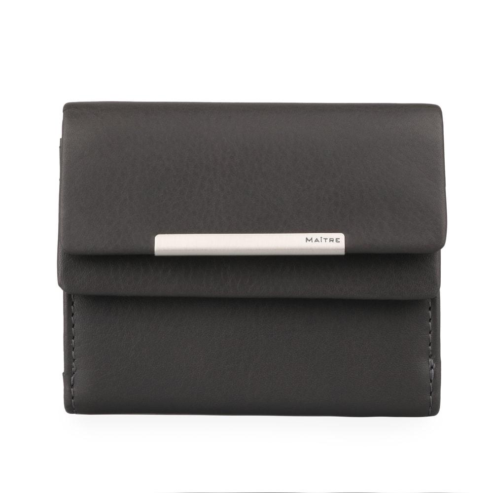 Maitre Dámská kožená peněženka Deda 4060001417 - tmavě šedá
