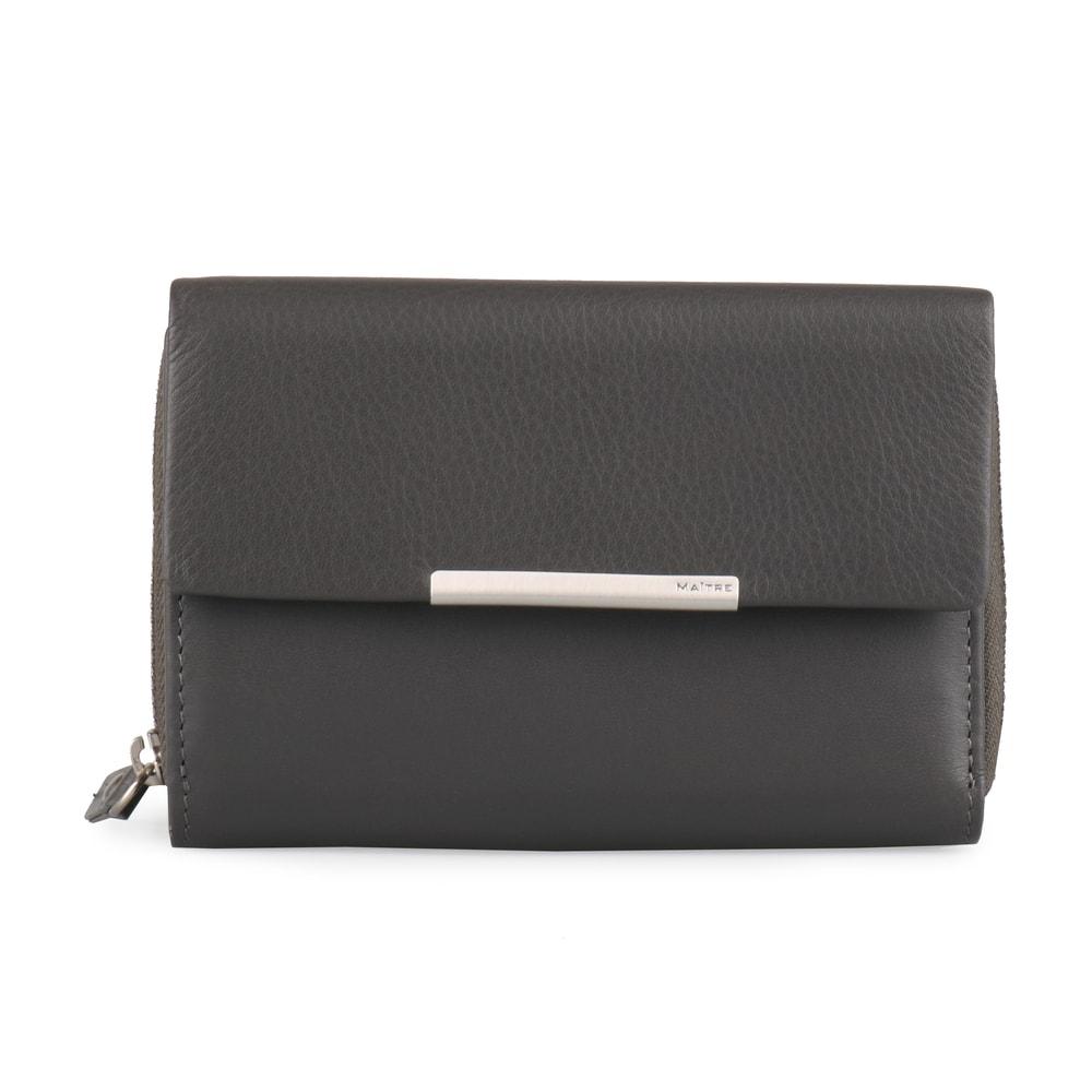 Maitre Dámská kožená peněženka Belg Dagrete 4060001415 - tmavě šedá