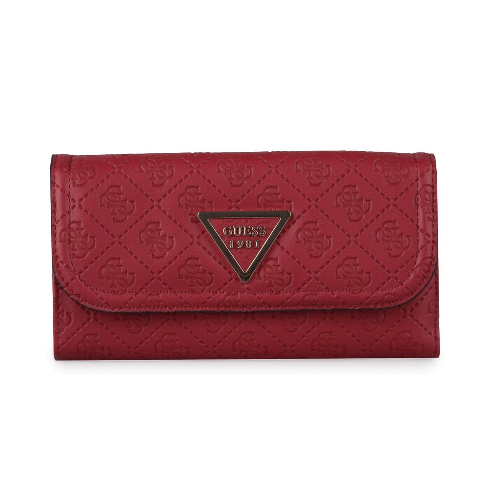 GUESS Velká dámská peněženka Lyra SWSG7100650 - červená