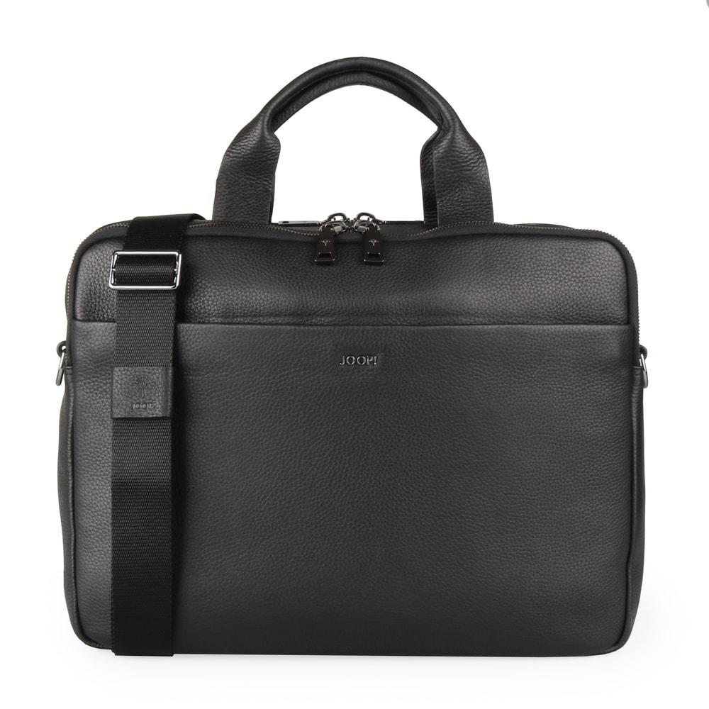 f2a2b5f63 JOOP! Pánská kožená taška přes rameno Cardona Pandion 4140003729 - černá