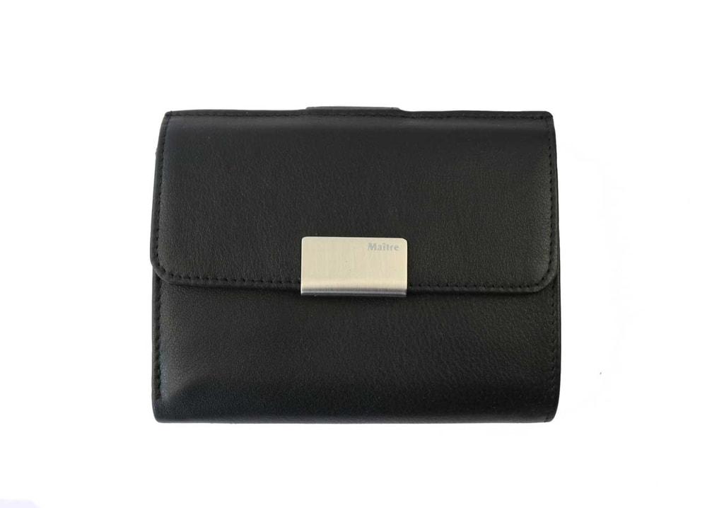 Maitre Dámská kožená peněženka 1018 - černá