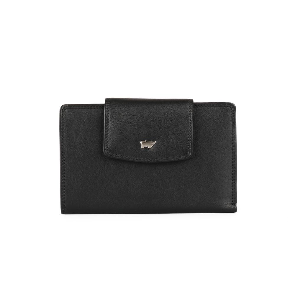 Braun Büffel Dámská kožená peněženka Golf 90458-051 - černá