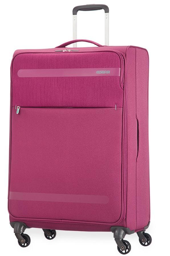 American Tourister Cestovní kufr Herolite Lifestyle Spinner 26G*106 95 l - růžová