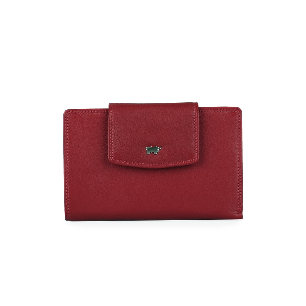 Braun Büffel Dámská kožená peněženka Golf 90458-051 - červená