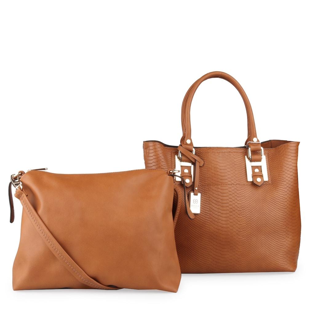 Bessie London Dámská kabelka přes rameno BW2739 - hnědá