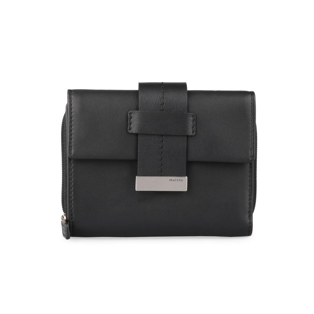 Maitre Dámská kožená peněženka Diethilde 4060001396 - černá