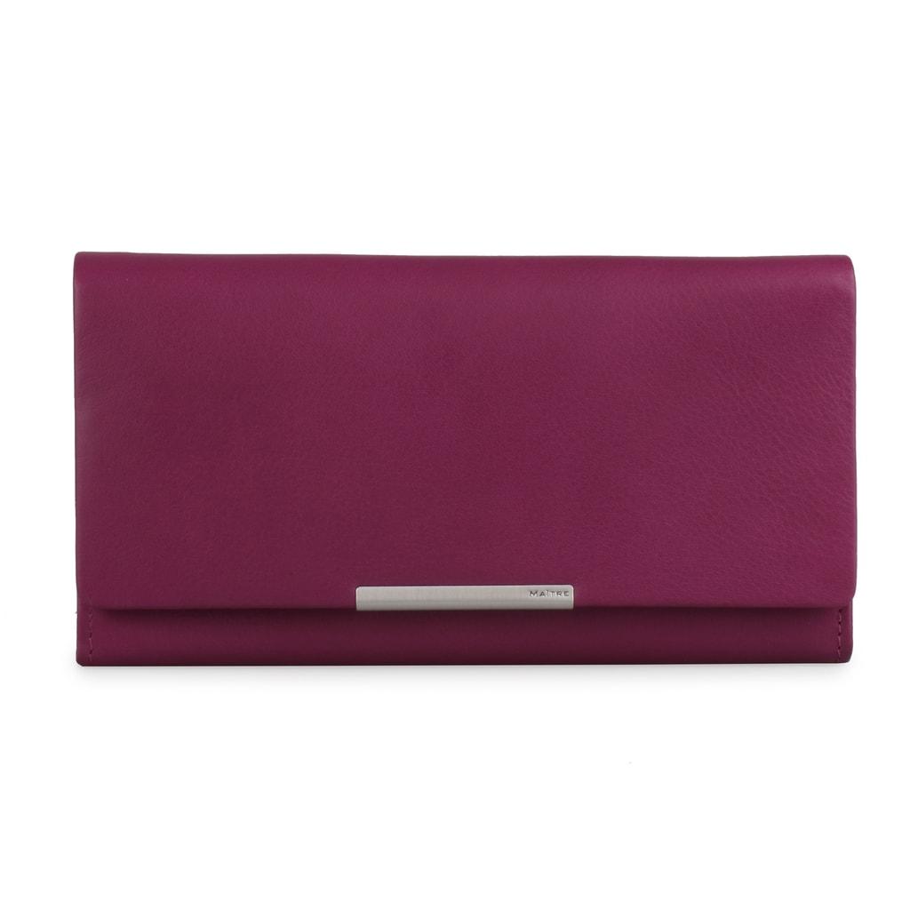Maitre Dámská kožená peněženka Belg 4060001414 - fialová