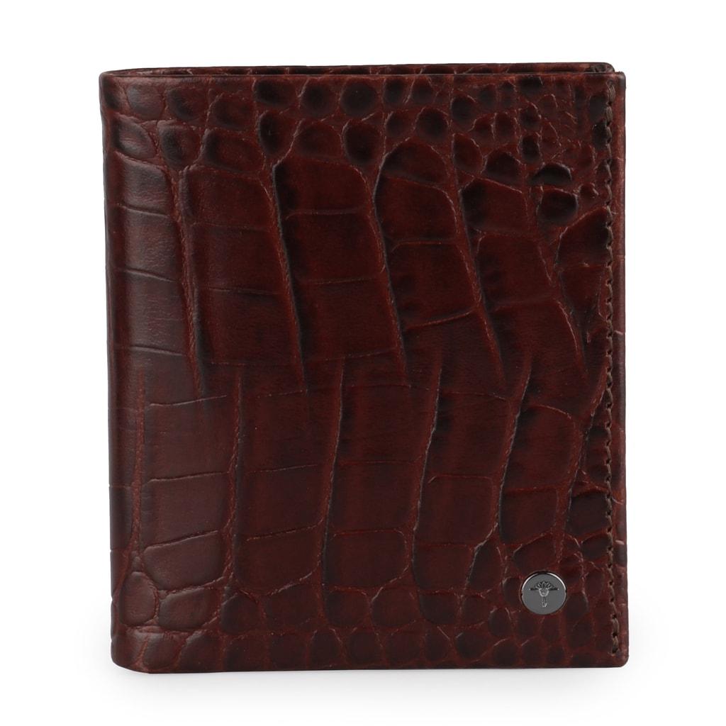JOOP! Pánská kožená peněženka Daphnis Crocco 4140002276 - tmavě hnědá