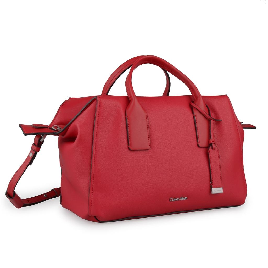 Calvin Klein Dámská kabelka Downtown Duffle K60K603897 - červená
