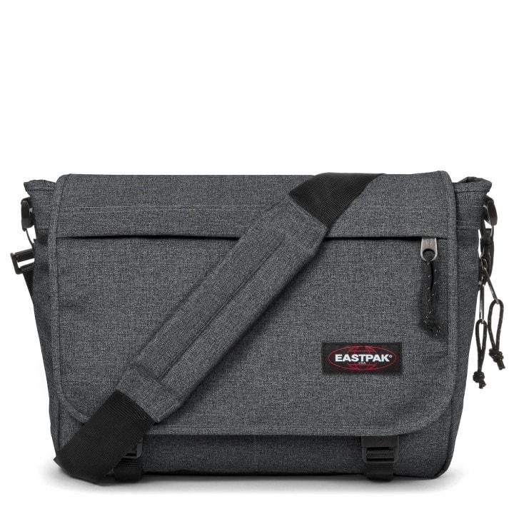 EASTPAK Pánská taška přes rameno Delegate Black Denim EK07677H