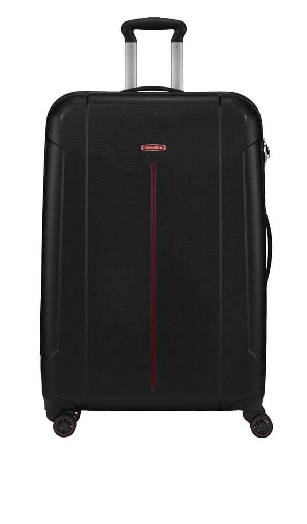 Travelite Cestovní kufr Echo L Black 73449-01 106 l