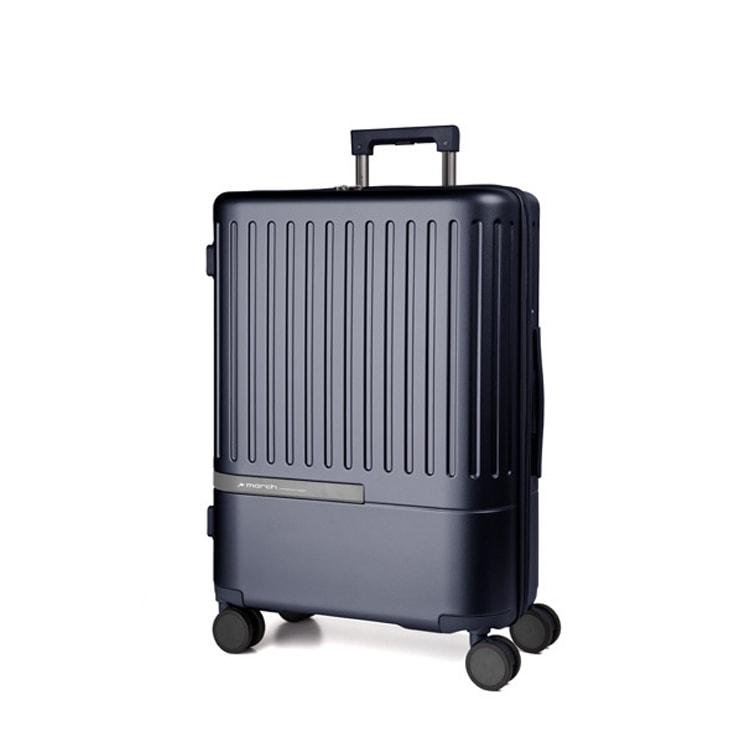 March Velký cestovní kufr Daytona 104 l - modrá