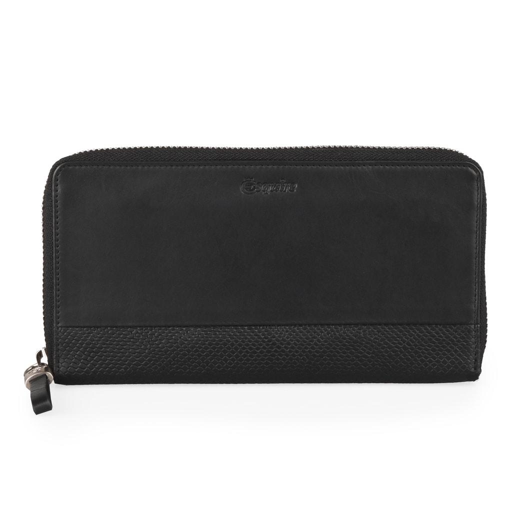 Esquire Dámská kožená peněženka 196157 - černá