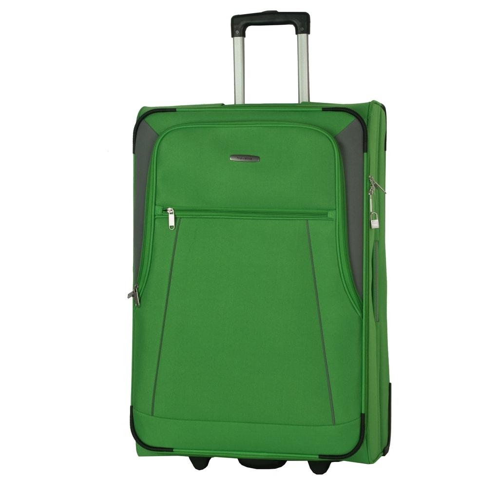Travelite Velký cestovní kufr Portofino 81 l P38381 zelená