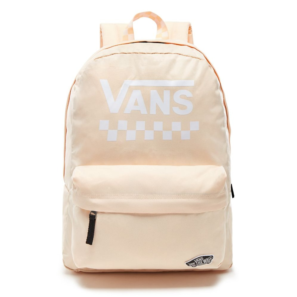 VANS Dámský batoh WM Sporty Realm Back Bleached Apricot Too Much Fun 22 l