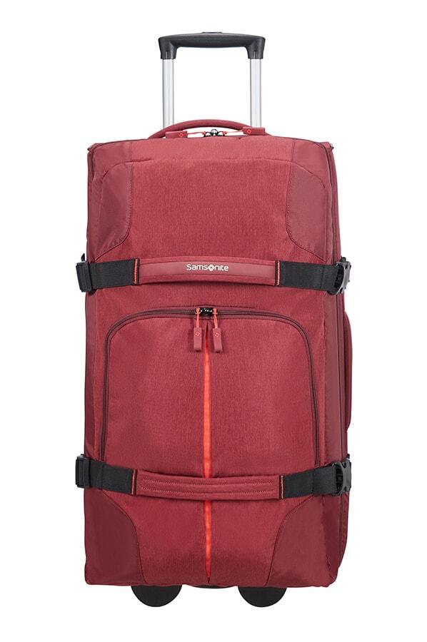 Samsonite Cestovní taška na kolečkách Rewind 72,5 l - červená