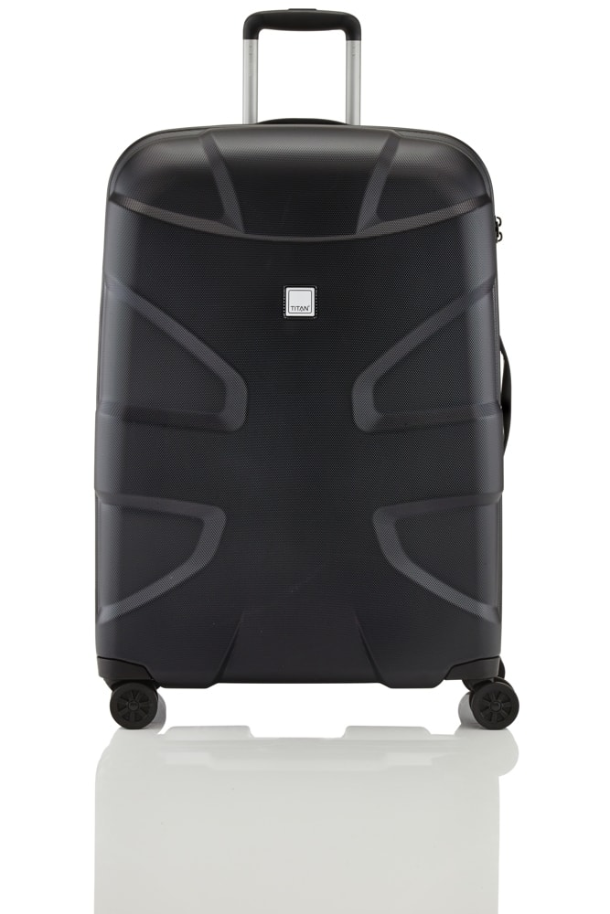 Titan Cestovní kufr X2 Shark Skin 4w L Black shark 103 l