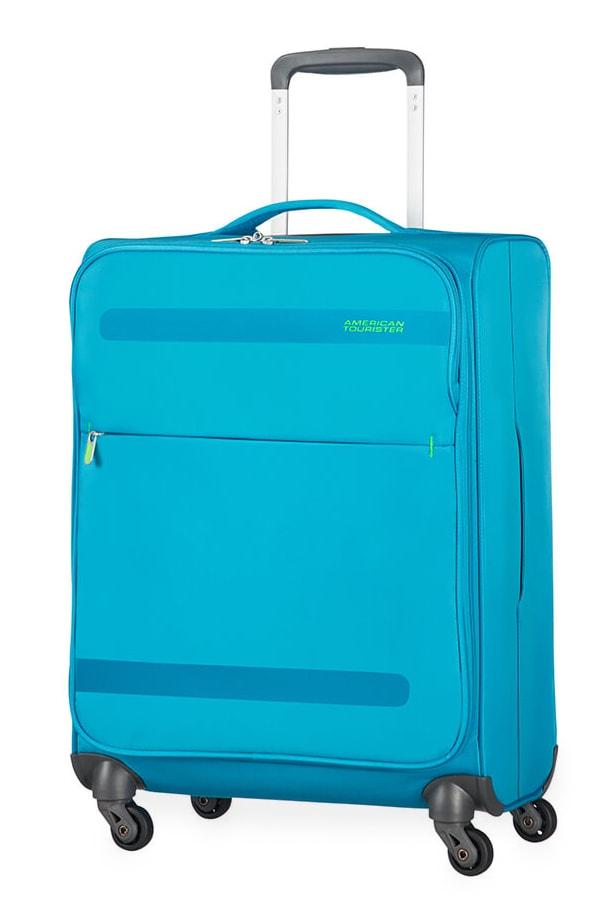American Tourister Kabinový cestovní kufr Herolite Super Light Spinner 26G*002 42 l - světle modr